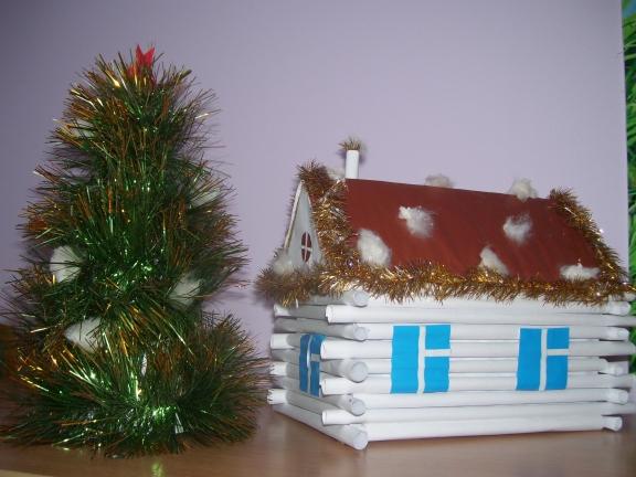 Поделки новогодние в детский сад пошагово 92