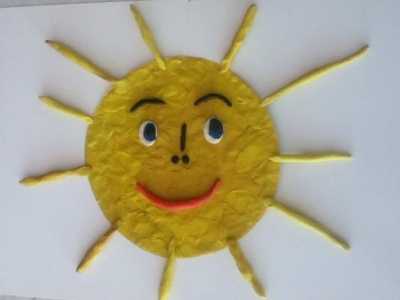 Лепка в старшей группе солнышко покажись картинки
