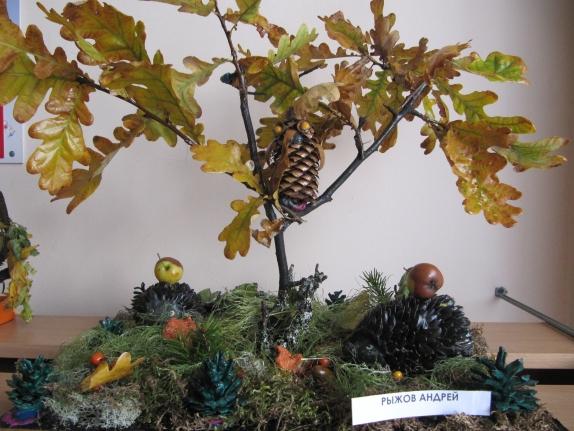 Лес поделка в детский сад 44
