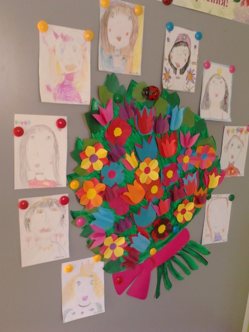Проект на тему открытка для мамы, шоколадки марта