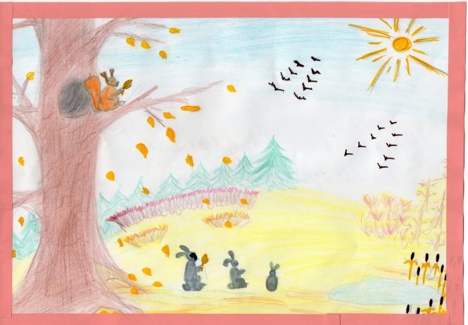 Утро, птицы улетают на юг картинки для детей в детском саду