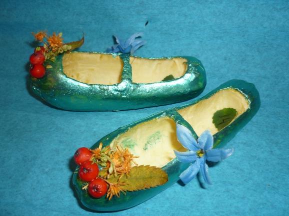 Поделки из овощей туфельки 37