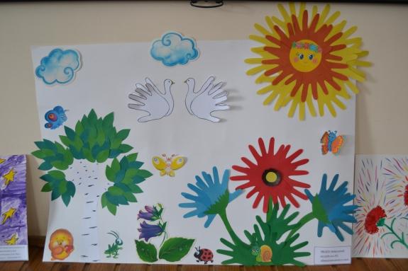 Мир глазами детьми поделки 411