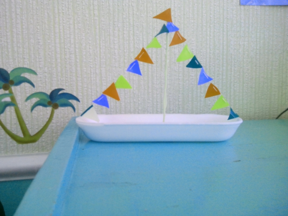 Поделка кораблик детский сад