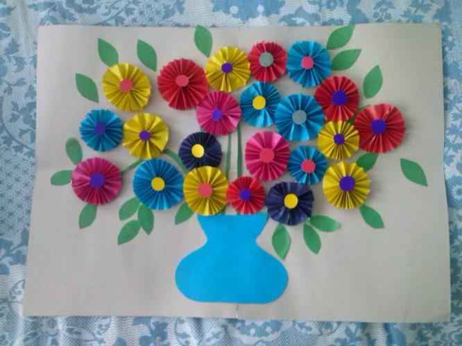 Спокойной, картинки поделки на день матери в детском саду