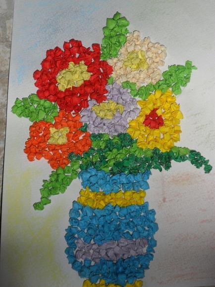 детский конкурс цветы своими руками