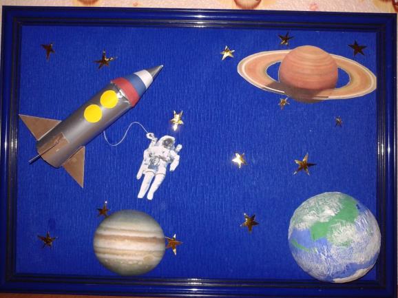 Поделки на тему космоса как сделать