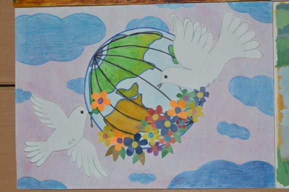 Рисунок или поделка мир во всем мире 373