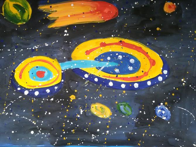Конкурс на просторах вселенной