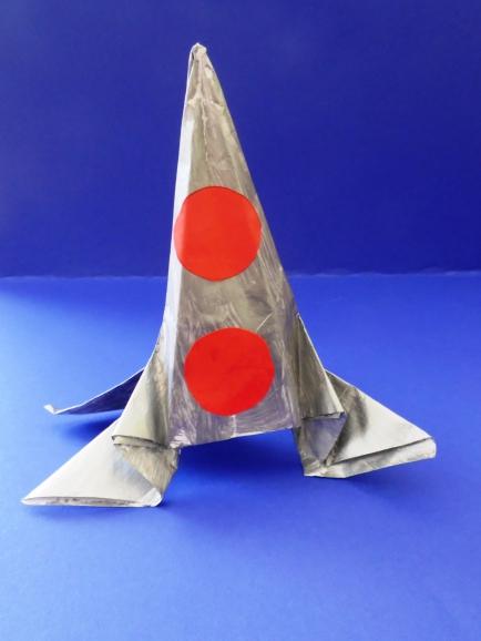 Детские поделки ракета фото