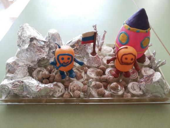 Космонавт поделка своими руками 17