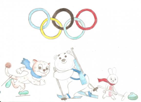Рисунки олимпийские игры