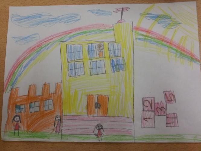 картинки рисунок школа моей мечты где происходит
