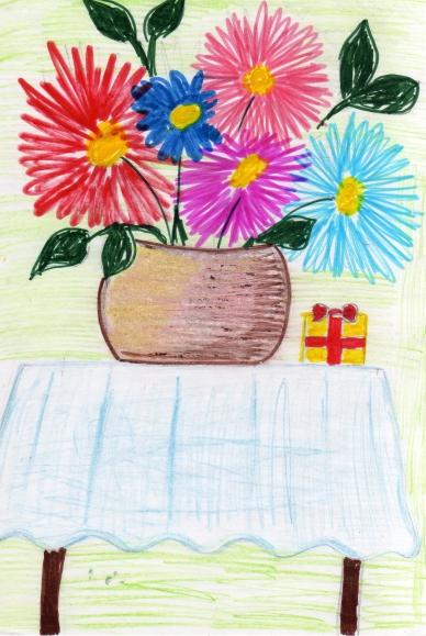 Конкурс рисунков букет лета
