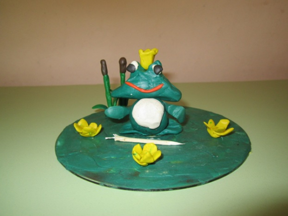 теплоизоляционные лягушка царевна из пластилина картинки девушка