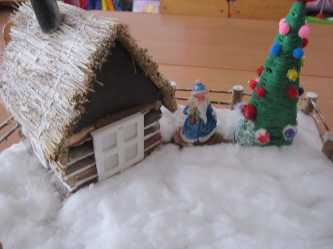 таких видов детское творчество поделки дом для дедушки мороза синтетическое, шерстяное термобелье