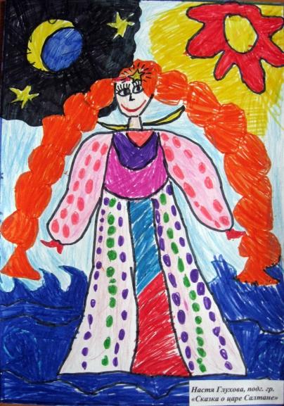 Конкурс рисунков сказка о царе салтане
