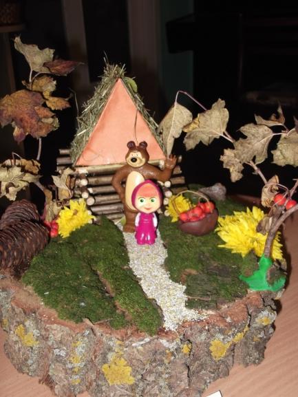 В гостях у сказки поделка в сад 4