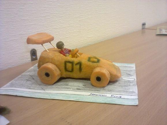 Машина из фруктов своими руками 99