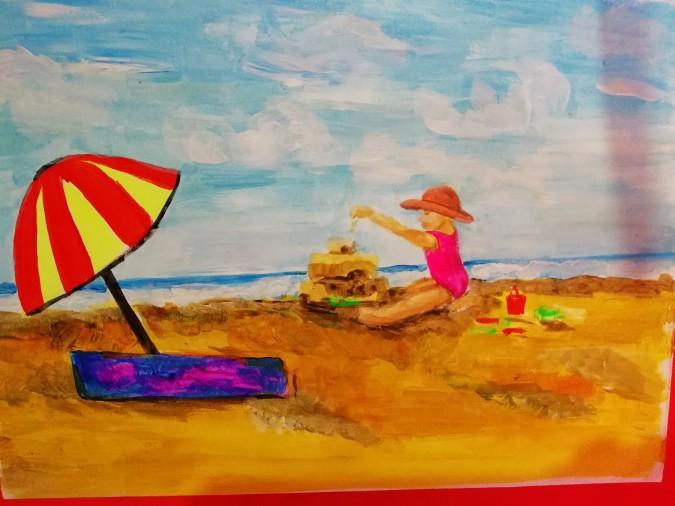 Картинки на тему как я провел лето 5 класс