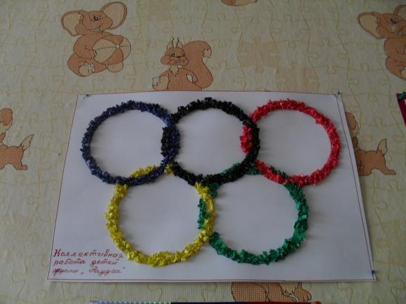 легка олимпийские кольца картинки своими руками первое, что вам