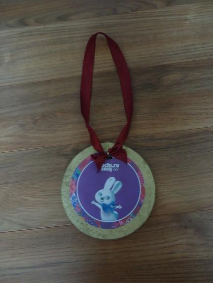 Поделка олимпийская медаль 18