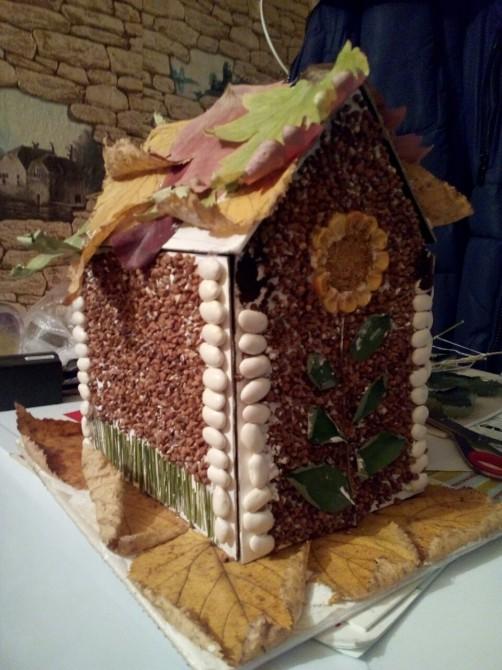 Поделка на осень с домиками