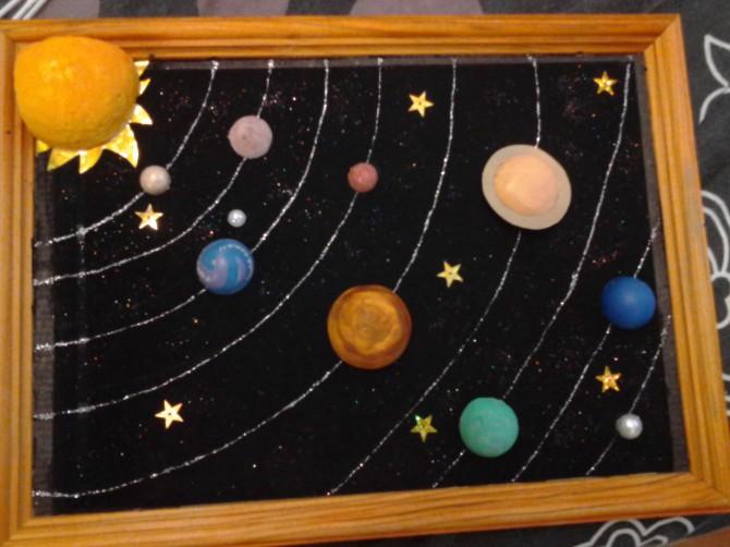 Планеты в детскую своими руками 54