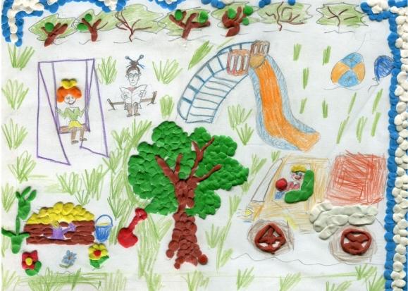 Наш любимый детский сад рисунки поделки 60