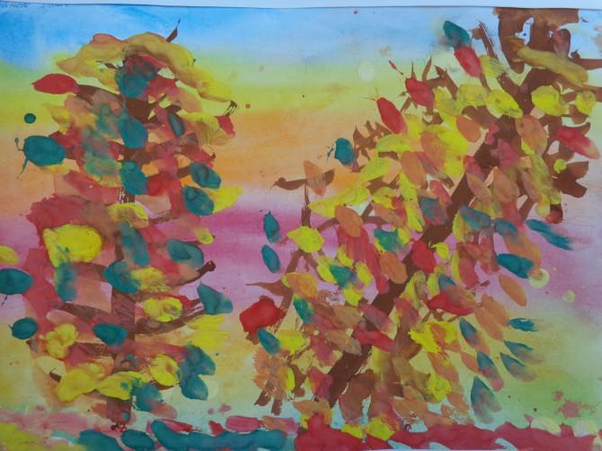 Рисунки конкурса краски осени