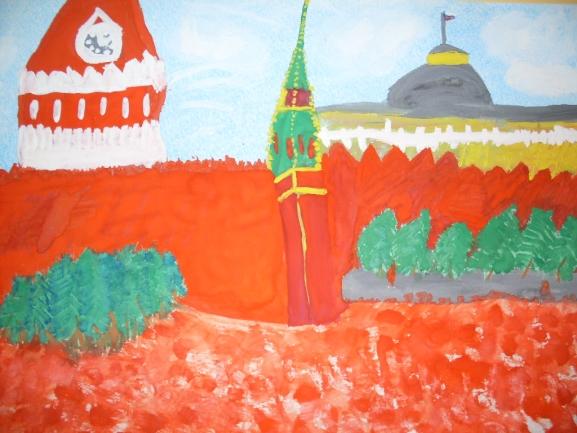 Красная площадь картинки для детей нарисованные, внучке открытках
