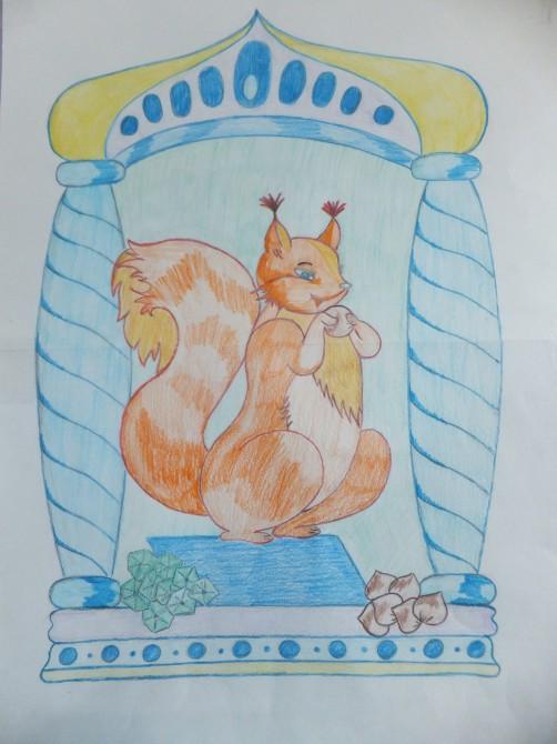Днем рождения, картинки белочки из сказки о царе салтане