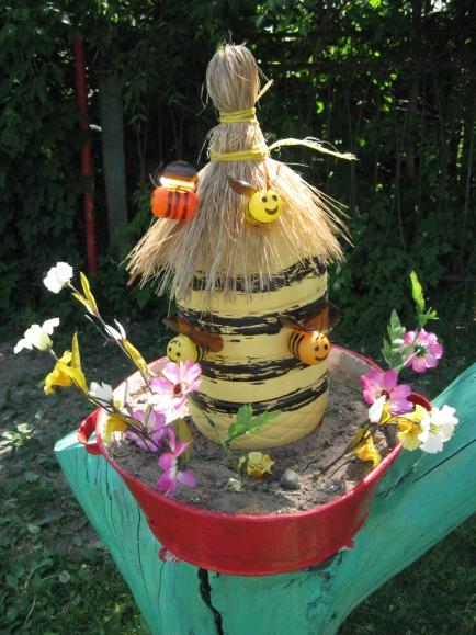 Поделки улей с пчелами своими руками 72