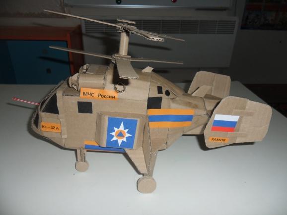 Как сделать поделку вертолет