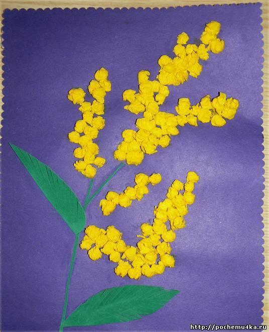 Поделки для детского сада своими руками к 8 марта