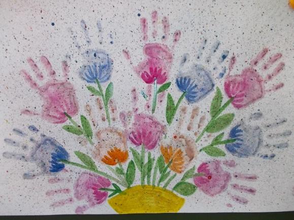Картинки муж, открытка красками для мамы