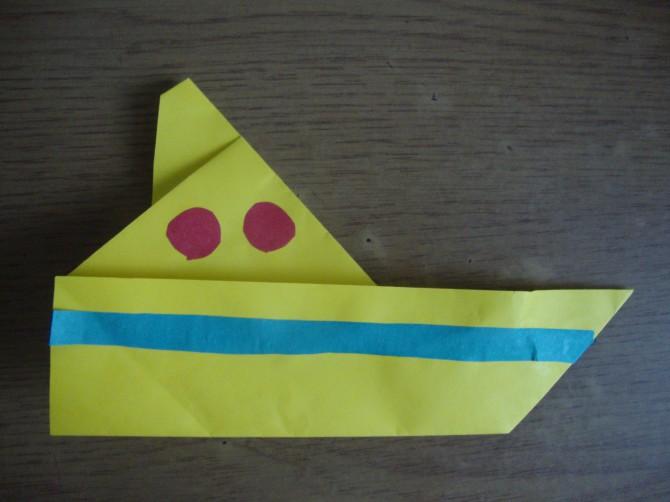 Поделка кораблик детский сад 29