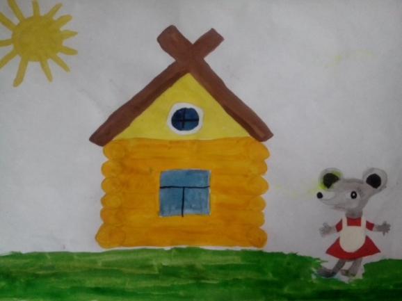интересные варианты сказочные домики рисование старшая группа фото еще