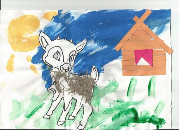 Поделка волка для детей