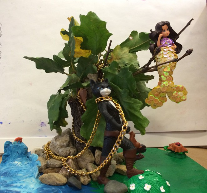 Поделка дуб зеленый своими руками