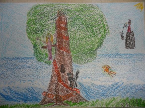"""""""У лукоморья дуб зеленый."""". Фото № 9931. Июль 2013 ..."""