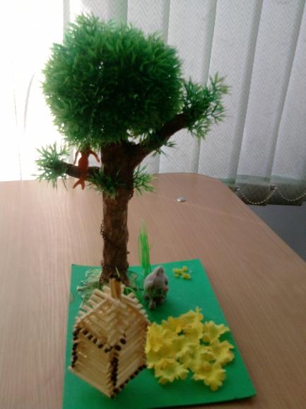 Поделки из природного материала у лукоморья дуб зеленый 12