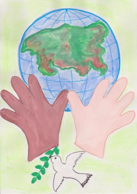 Поделки мир в наших руках