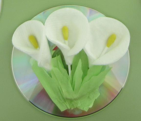 Для мам поделки из ватных дисков своими руками