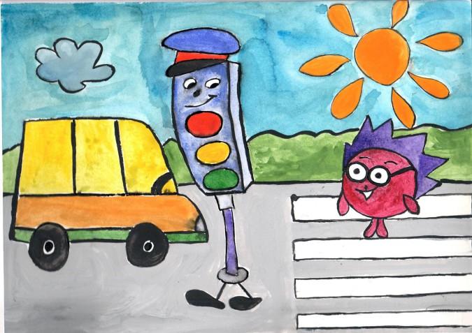 Мой друг светофор картинки для детей