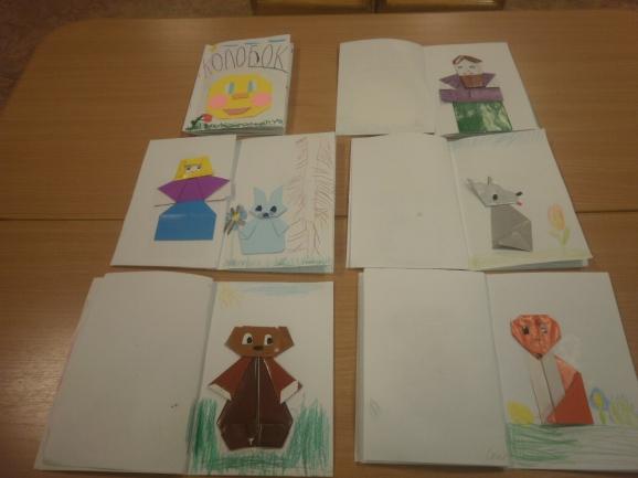 Книжки-малышки своими руками по сказкам пушкина