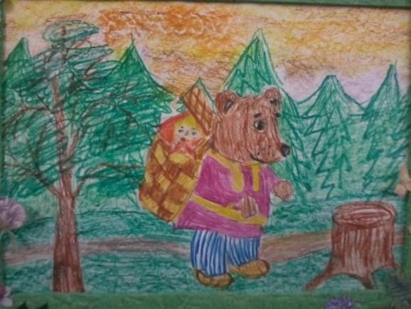 Картинки гости, рисунок к сказке маша и медведь 1 класс