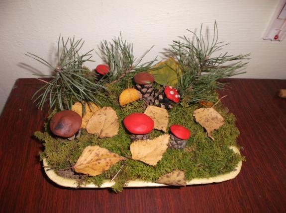 Поделки из природного материала на лесную тему 70
