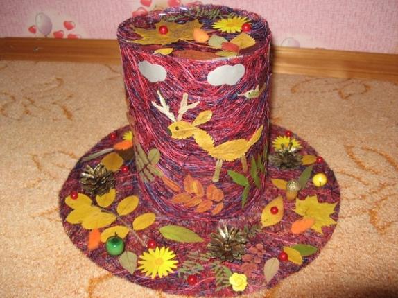 Поделки своими руками шляпы осени 84