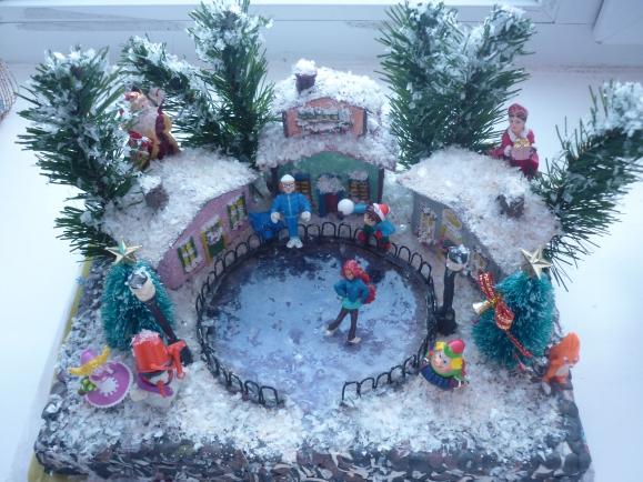 Зимние поделки в детский сад из пластилина 79
